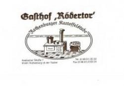 Gasthof Rödertor mit Rothenburger Kartoffelstube